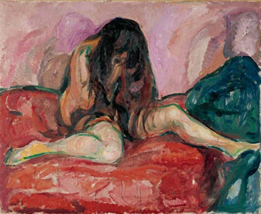 Weeping Nude (1913 - 1914), Edvard Munch (1863 - 1944)